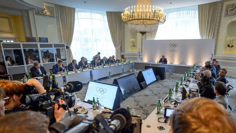 Сегодня. Лозанна. Олимпийский саммит. Фото AFP
