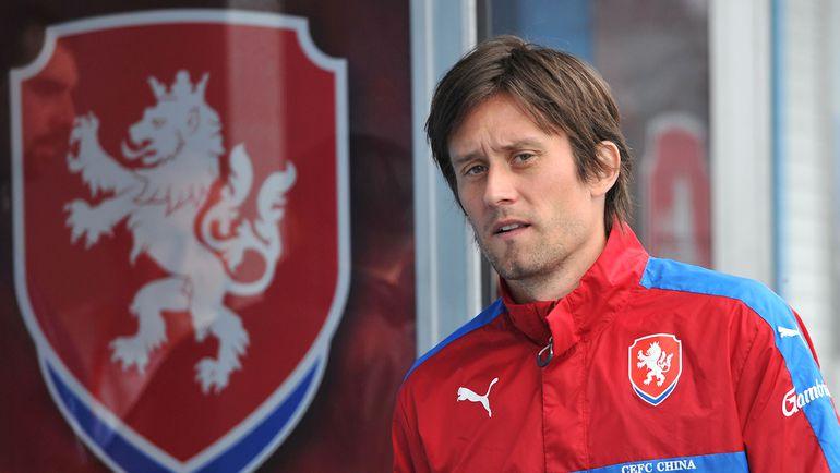Томаш РОСИЦКИ. Фото AFP