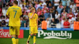 Вчера. Марсель. Украина - Польша - 0:1. Украинцы стали одним из главных разочарований турнира.