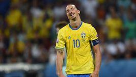 Вчера. Ницца. Швеция - Бельгия - 0:1. Златан ИБРАГИМОВИЧ.