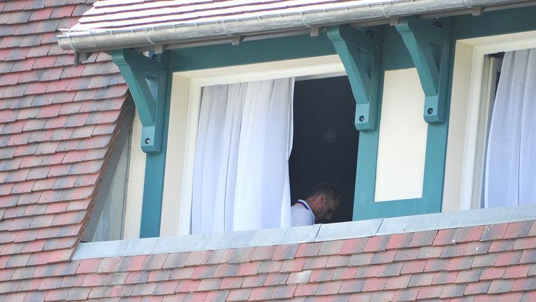 """Денис ГЛУШАКОВ в своем номере. Фото Александр ФЕДОРОВ, """"СЭ"""""""