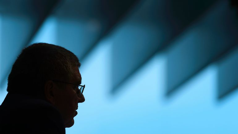 Вторник. Лозанна. Президент МОК Томас БАХ. Фото AFP