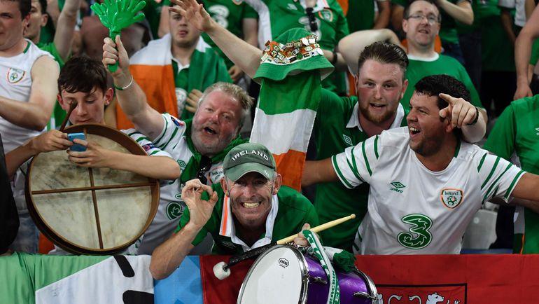 Фанаты сборной Ирландии - лучшие на Euro-2016. Фото AFP