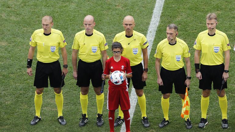 Бригада Сергея КАРАСЕВА на Euro-2016. Фото Reuters