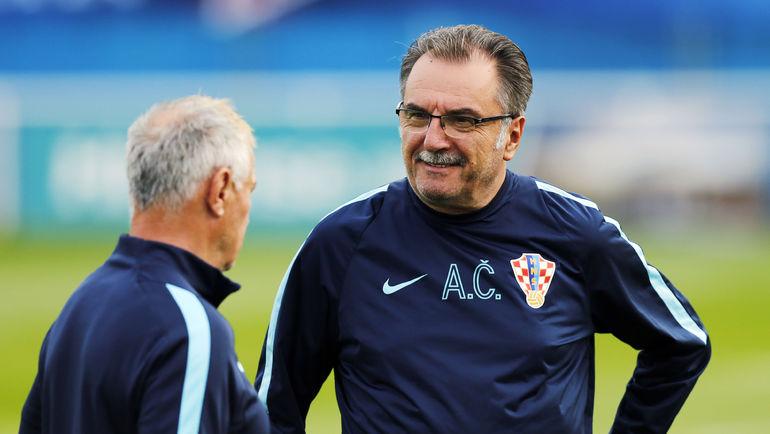Главный тренер сборной Хорватии Анте ЧАЧИЧ. Фото AFP
