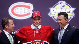 """Пятница. Баффало. Михаил СЕРГАЧЕВ выбран """"Монреалем"""" под девятым номером на драфте НХЛ-2016."""