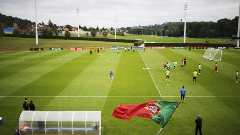 Тренировка сборной Португалии. Фото Reuters