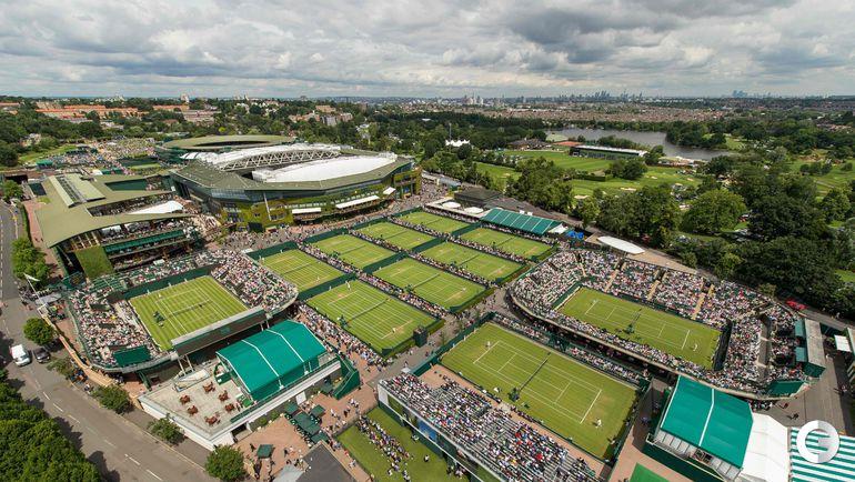 """Сегодня. Лондон. Турнир """"Большого шлема"""" Wimbledon."""