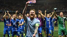 Вчера. Ницца. Англия - Исландия - 1:2. После матча.