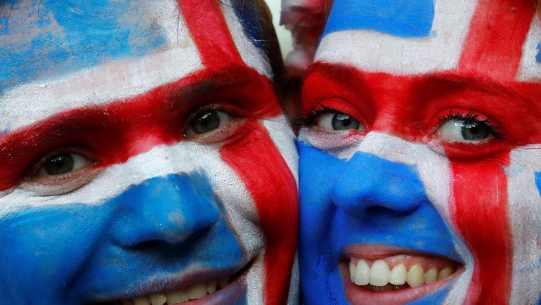 Понедельник. Ницца. Англия - Исландия - 1:2. Счастье северных фанатов. Фото Reuters
