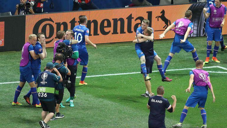 Понедельник. Ницца. Англия - Исландия - 1:2. Первые секунды счастья. Фото AFP