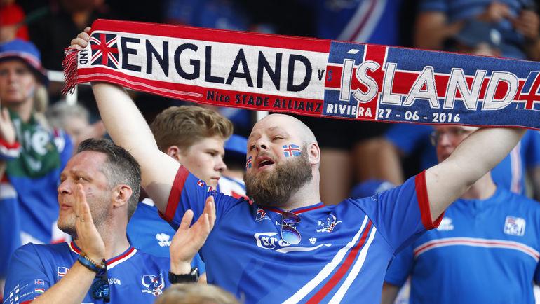 Болельщик сборной Исландии. Фото Reuters