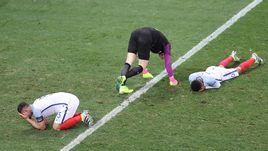 Понедельник. Ницца. Англия - Исландия - 1:2. Эмоции англичан после финального свистка.