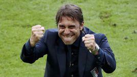 Понедельник. Сен-Дени. Италия - Испания - 2:0. Антонио КОНТЕ.