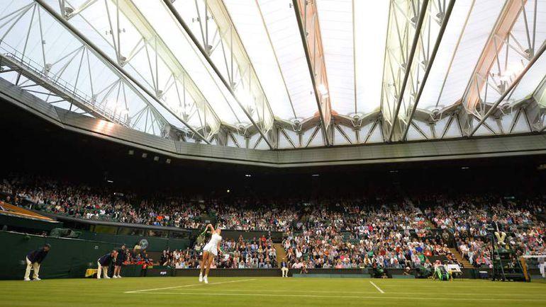 Вчера. Лондон. В игре Каролин ВОЗНЯЦКИ. Фото AFP