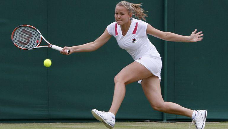 Евгения РОДИНА продолжает выступления на своем любимом турнире. Фото Reuters