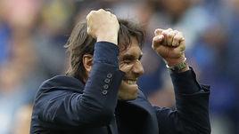Понедельник. Сен-Дени. Италия - Испания - 2:0. Эмоции главного тренера итальянской сборной Антонио КОНТЕ.