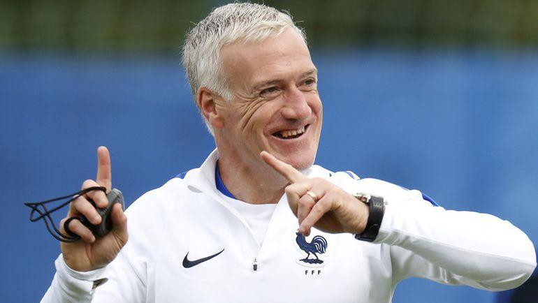 Главный тренер сборной Франции Дидье ДЕШАМ. Фото Reuters