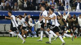 Суббота. Бордо. Германия - Италия - 1:1 д.в. Пенальти – 6:5. Бундестим ликует после выхода в полуфинал Euro.