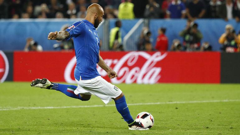 Нападающий сборной Италии Симоне ДЗАДЗА. Фото Reuters