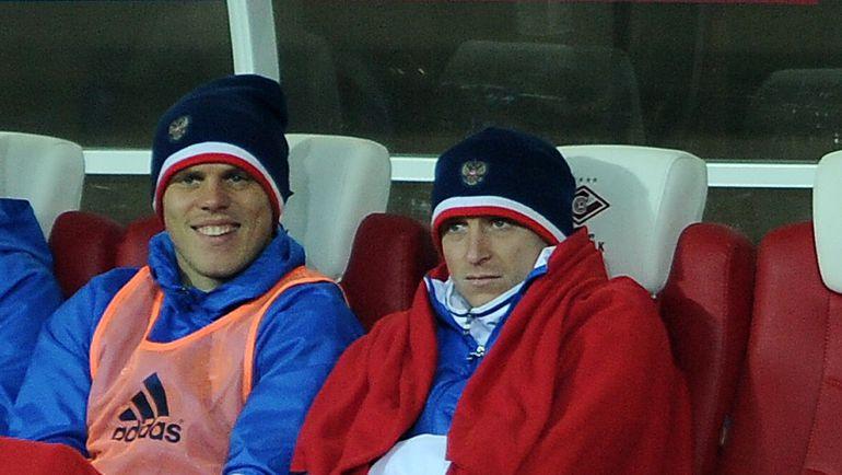 "Александр КОКОРИН и Павел МАМАЕВ. Фото Алексей ИВАНОВ, ""СЭ"""