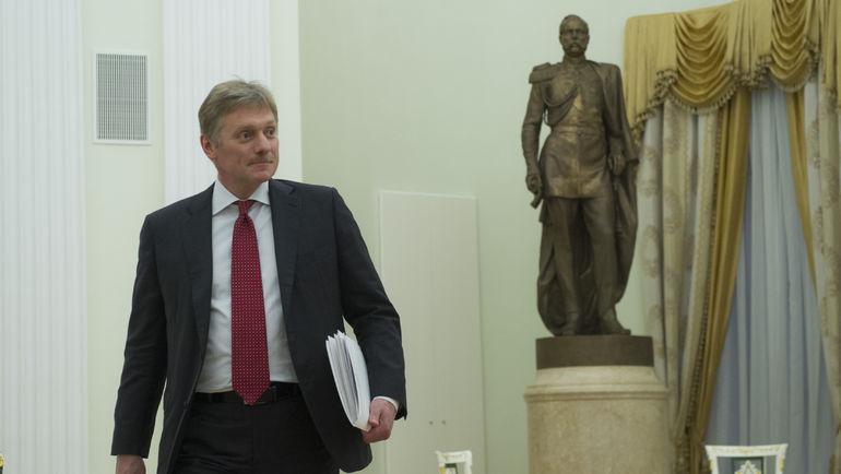 Дмитрий ПЕСКОВ. Фото Федор УСПЕНСКИЙ, «СЭ»