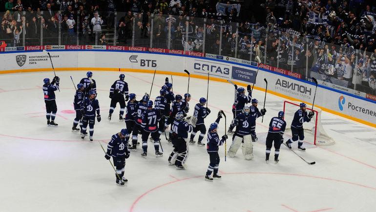 """Игроки """"Динамо"""" до сих пор не получили бонусы за прошлый сезон. Фото Александр ФЕДОРОВ, """"СЭ"""""""