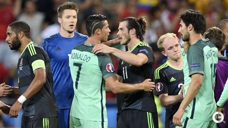 Среда. Лион. Португалия - Уэльс - 2:0. КРИШТИАНУ РОНАЛДУ и Гарет БЭЙЛ.
