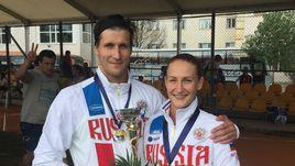 Римшайте и Савкин - вторые в миксте на чемпионате Европы