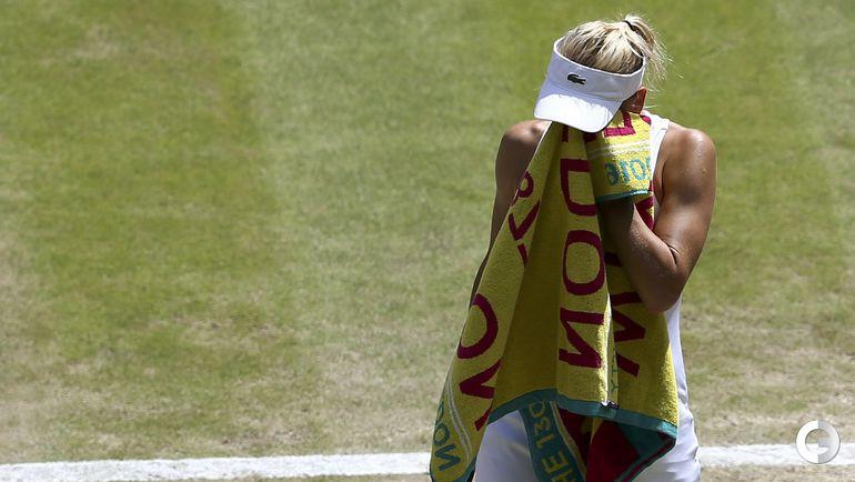 Сегодня. Wimbledon. Полуфинал. Серена Уильямс (США, 1) - Елена ВЕСНИНА (Россия) - 6:2, 6:0.