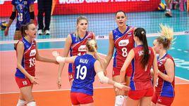 """Сегодня. Бангкок. Таиланд – Россия - 0:3. Россиянки заняли второе место и в полуфинале """"Гран-при"""" сыграют против американок."""