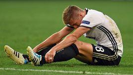 Тони КРООС после поражения в полуфинале Euro-2016.