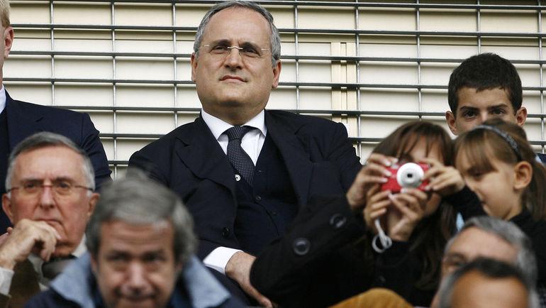 """В лице президента """"Лацио"""" Клаудио ЛОТИТО Бьельса нажил себе опасного врага. Фото AFP"""