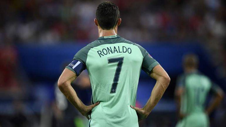 Лидер сборной Португалии Криштиану РОНАЛДУ. Фото AFP
