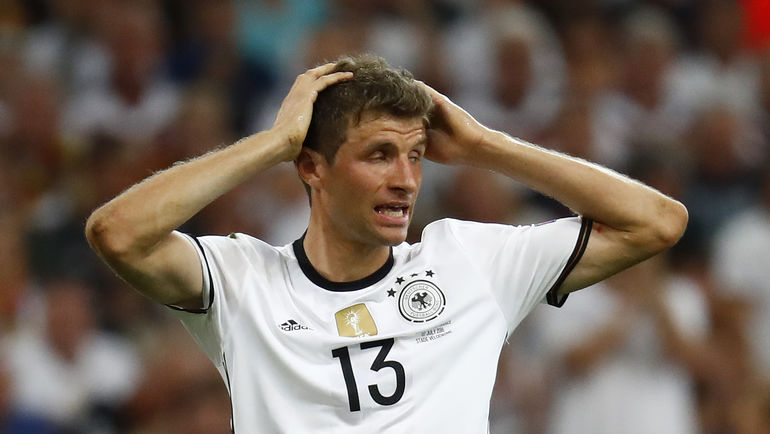 Томас МЮЛЛЕР, по большому счету, провалил Euro-2016. Фото Reuters