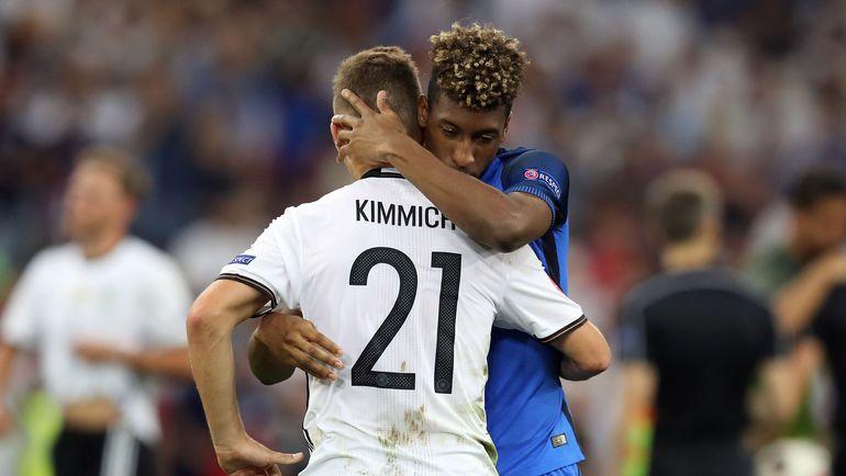 Джошуа КИММИХ не сумел своей игрой доказать необходимость сборной Германии. Фото AFP