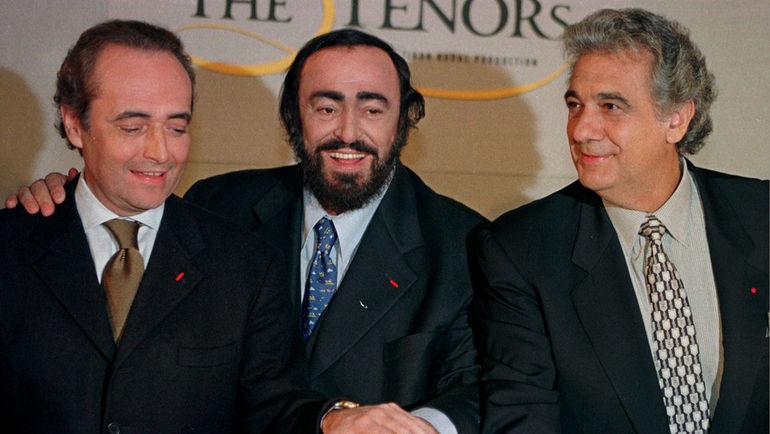 Хосе КАРРЕРАС, Лучано ПАВАРОТТИ и Пласидо ДОМИНГО. Фото REUTERS