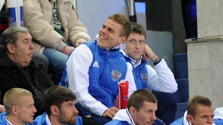 Александр КОКОРИН и Павел МАМАЕВ. Фото Алексей ИВАНОВ, «СЭ»