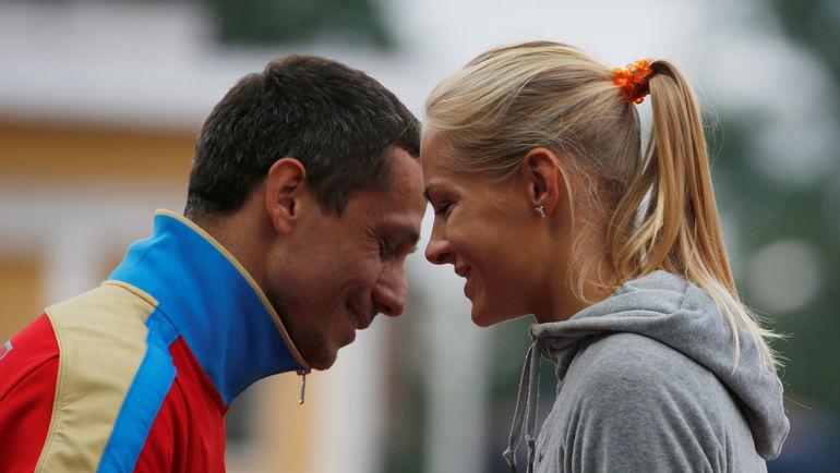 Юрий БОРЗАКОВСКИЙ и Дарья КЛИШИНА. Фото Reuters