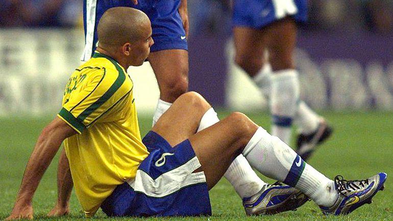 12 июля 1998 года. Франция - Бразилия - 3:0. РОНАЛДО. Фото Reuters