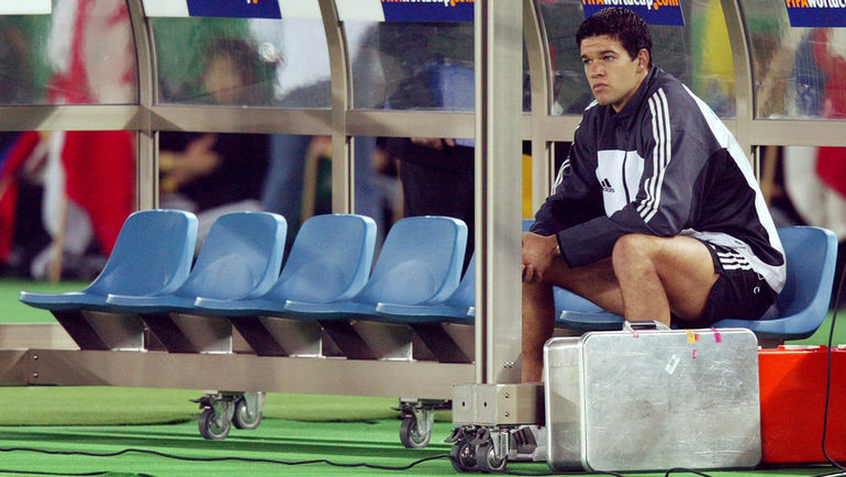 30 июня 2002 года. Бразилия - Германия - 2:0. Михаэль БАЛЛАК. Фото Reuters