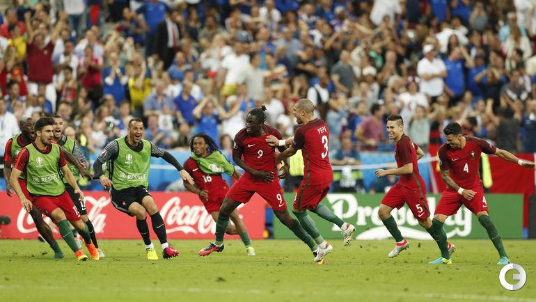 Воскресенье. Сен-Дени. Португалия - Франция - 1:0. д.в. ЭДЕР забивает победный гол.