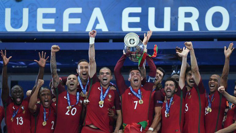 Вчера. Сен-Дени. Португалия - Франция - 1:0. Вокруг победы португальцев на Euro будет еще много споров. Фото AFP