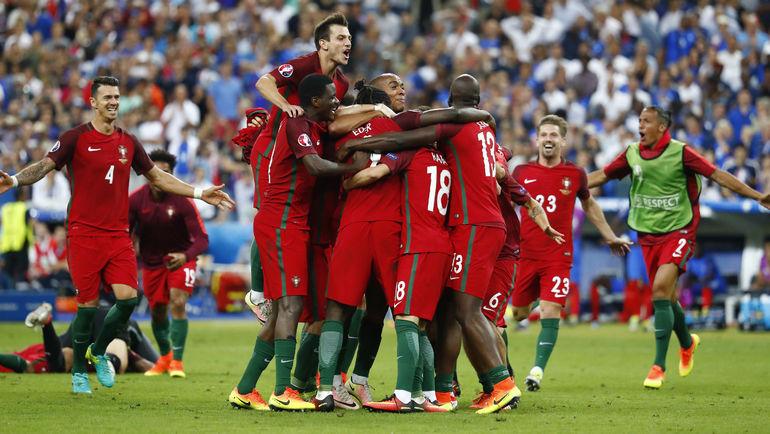 Вчера. Сен-Дени. Португалия - Франция - 1:0. Португальская сказка. Фото Reuters