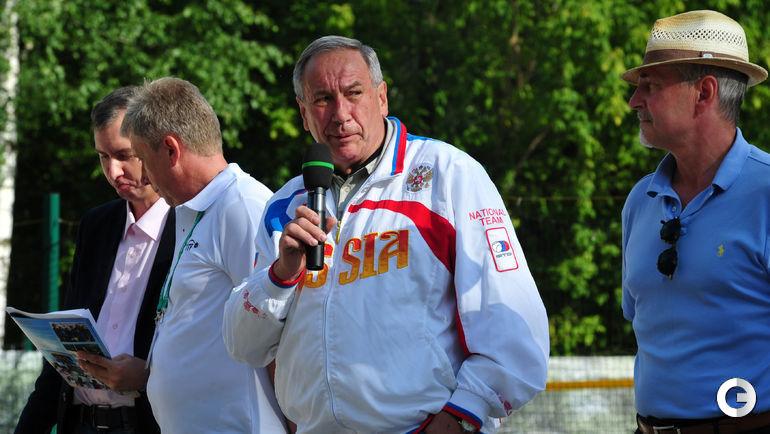 Сегодня. Москва. Командный чемпионат мира по пляжному теннису.