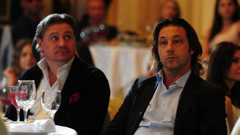 Андрей КАНЧЕЛЬСКИС (слева) и Александр МОСТОВОЙ. Фото Никита УСПЕНСКИЙ, «СЭ»