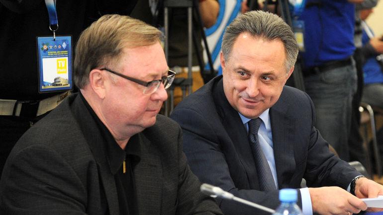 Сергей СТЕПАШИН и Виталий МУТКО. Фото Татьяна ДОРОГУТИНА