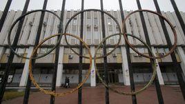 Здание Олимпийского комитета России.