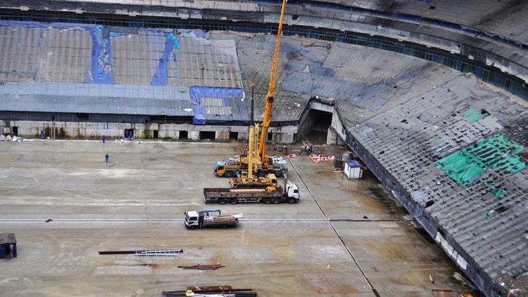 """Стадион на Крестовском острове в июле 2016-го. Фото """"Питер Арена"""""""