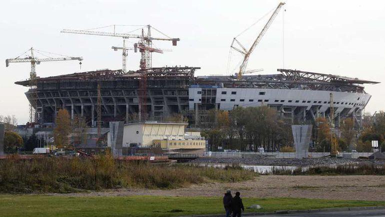 Так стадион выглядел осенью 2014-го... Фото Reuters